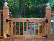 How To Install Your Wooden Swing Gate Ideal Dog Gate And