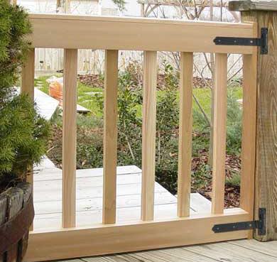Wooden Gate Designs For Decks