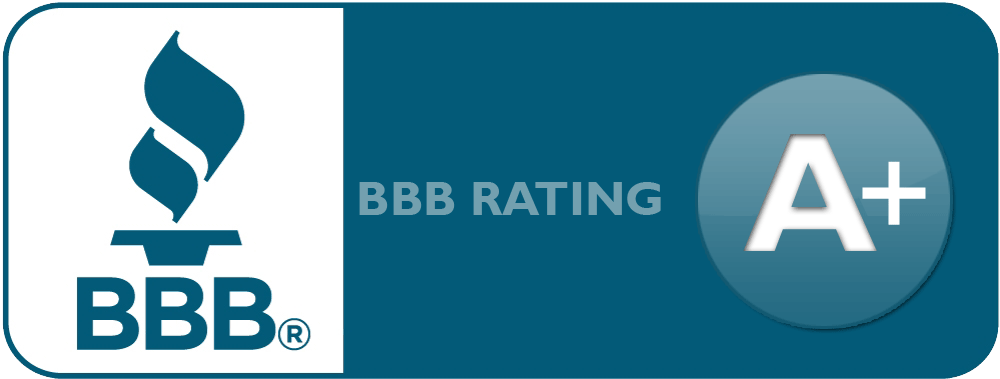 A+ Rating at the Better Business Bureau