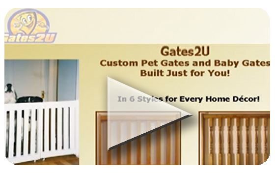 Gates2u Custom Pet Gates Custom Baby Gates Custom Deck Gates